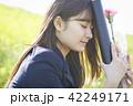 女子高生 卒業 42249171
