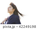 女子高生 女子 通学の写真 42249198