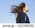 ポートレート 晴れ 女子高生の写真 42249202