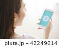 女性 スマートフォン 42249614