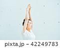 女性 運動 エクササイズの写真 42249783