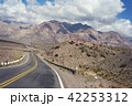 Mountain scenery landscape with empty road 42253312