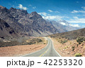 Mountain landscape with road on summer adventure 42253320
