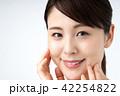 女性 顔 人物の写真 42254822