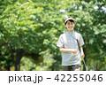 ミドル女性 ゴルフ スポーツ イメージ 42255046