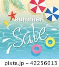 セール ベクター 夏のイラスト 42256613