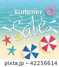 セール ベクター 夏のイラスト 42256614