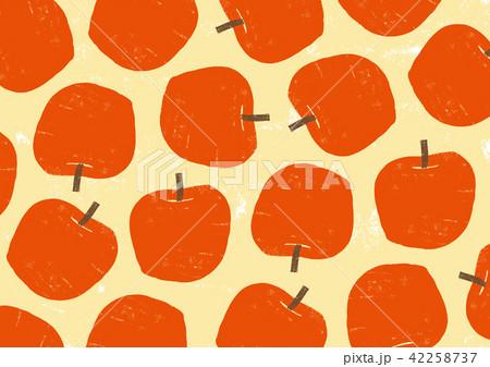 りんご 水彩画 42258737
