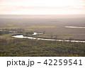釧路湿原 風景 夕景の写真 42259541