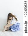 女性 女の子 きれいの写真 42265626