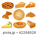 パイ チーズケーキ 食のイラスト 42268026