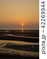 真玉海岸の夕日 42269944