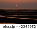 真玉海岸の夕日 42269952