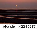 真玉海岸の夕日 42269953