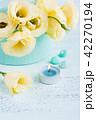 ユーストマ お花 フラワーの写真 42270194