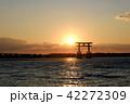 浜名湖 弁天島の夕刻 42272309