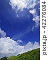 高原 夏 雲の写真 42276084