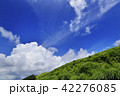 高原 夏 雲の写真 42276085