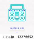 ラジオ 無線機 アイコンのイラスト 42276652