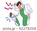 パワハラ 上司 バイトのイラスト 42278208