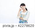 女性 主婦 悩むの写真 42278620