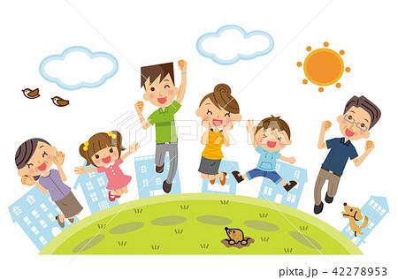 三世代家族 ジャンプ 42278953