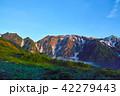 北アルプス 山 山脈の写真 42279443