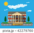 ベクトル 建物 建築物のイラスト 42279760