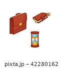 すなどけい 砂時計 お財布のイラスト 42280162