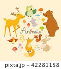 動物イラストセット(1) 42281158