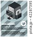 サーバー ハードウェア コンピュータのイラスト 42287395