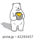 ベクトル くま クマのイラスト 42293457