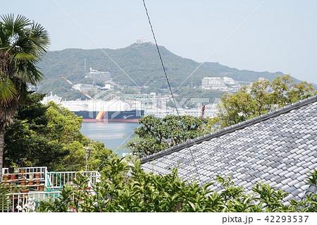 南山手から長崎港を見下ろす 42293537