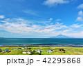 晴れ 北海道 海の写真 42295868