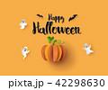 ハロウィン かぼちゃ カボチャのイラスト 42298630