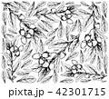 クコの実 手描きの 写生のイラスト 42301715