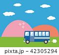 バス マイクロバス 観光のイラスト 42305294