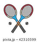 テニス ラケット ベクトルのイラスト 42310399