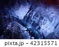 白髭の滝 冬 ライトアップの写真 42315571