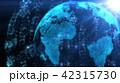 地球 グローバル CGのイラスト 42315730