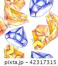 結晶 鉱物 バックグラウンドのイラスト 42317315