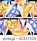 結晶 鉱物 バックグラウンドのイラスト 42317328