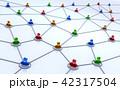 ネットワーク 人 コミュニティのイラスト 42317504