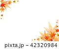紅葉 葉 背景のイラスト 42320984