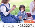 親子 ピクニック 弁当の写真 42322271