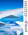 飛行機から見える景色 (富士山) 42322305