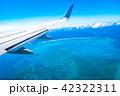 飛行機から見える景色 (石垣島) 42322311
