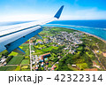 飛行機から見える景色 (石垣島) 42322314