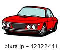 自動車 クーペ イタリア車のイラスト 42322441