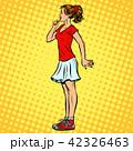 女の子 女児 女子のイラスト 42326463